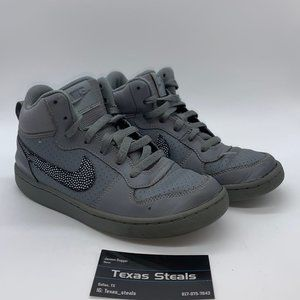 Nike Court Borough Mid Grey GS